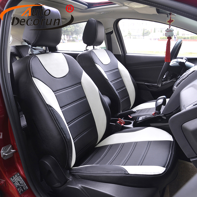 AutoDecorun 19PCS custom leather covers seat for Peugeot 307 SW car ...