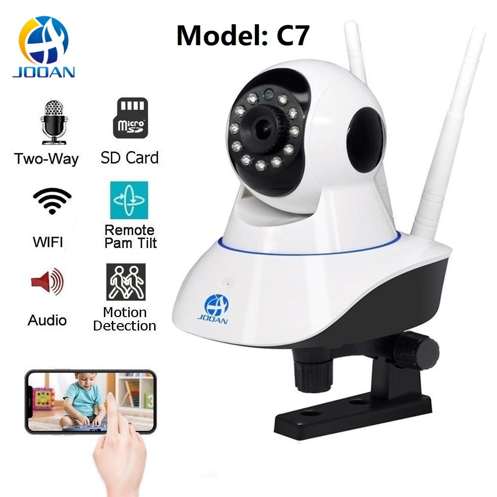 Hogar de la cámara de seguridad IP de red inalámbrica WiFi de la cámara de vídeo de vigilancia Wi-Fi visión nocturna nube interior 720 P 1080 P CCTV cámara