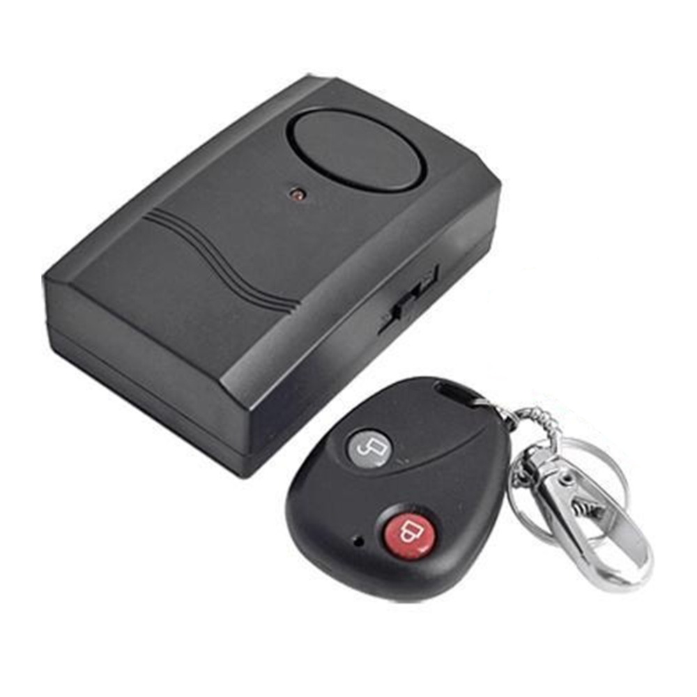 Dpower Security Wireless Remote Control Vibration Motorcycle Car Detector Anti-theft Alarm Security System 120dB hot selling