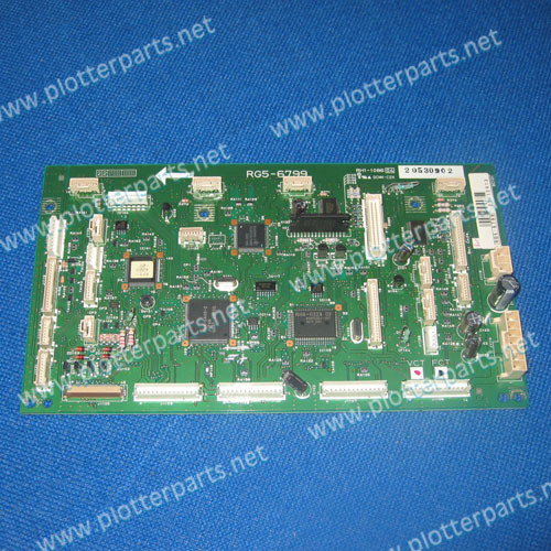 RG5-6799-000CN  Used - DC Controller PC Board   for the HP Color LaserJet 5500 printer parts