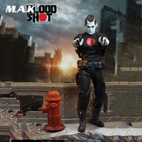 For Collection 1/6 TBLeague PL2018 119 Collectible Full Set Bloodshot Action Figure with Combined Gun for Fans Gifts