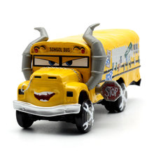 Disney Pixar Cars 3 Racing Center Miss Fritter Metal Diecast Toy Car 1:55 Loose Brand New In Stock Gift For Kids