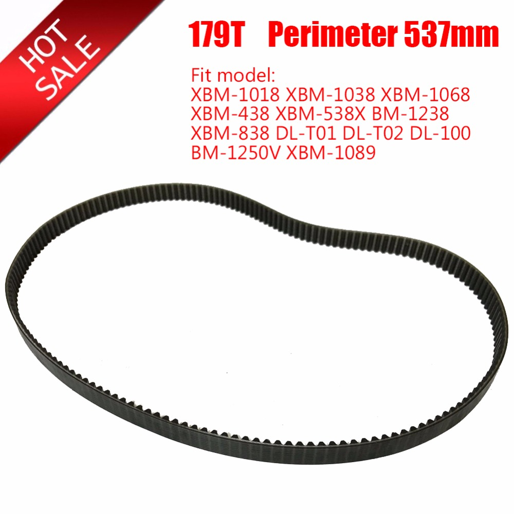 Bread Machine Belts Bread Maker Parts 179T Perimeter 537mm Breadmaker Conveyor Belts Kitchen Appliance Accessories Parts