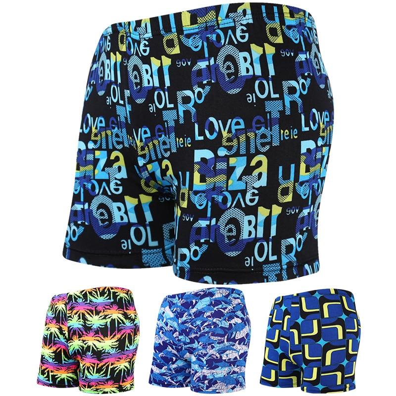 Multi Prints Quick Drying Men Swimming Trunks Beach Boexer Shorts Surfing Swimwear Briefs Swimsuit Wear Bathing Suit Swimwear