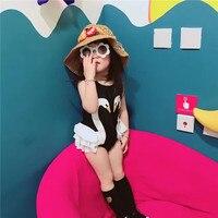 Kid Children S Swimwear New Female Child Bikinis Swimming Pool Spa Baby Swan One Piece Cap