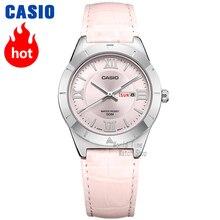 Casio часы женские часы лучший бренд класса люкс Водонепроницаемый Кварцевые часы женские женские подарки Часы светящиеся спортивные часы relogio feminino reloj mujer montre homme bayan kol saati zegarek damski ltp1410