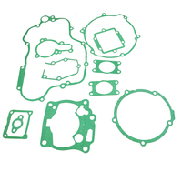 LOPOR Motorcycle engine gaskets include Crankcase Covers cylinder Gasket kit set For KAWASAKI KX125 KX 125 1998 2000 98 99 20