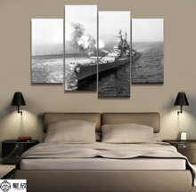 4 Panel Military USS Missouri Navy War Weapon Poster Printed Painting For Living Room Wall Art Decor Picture Artworks Poster 4 panel military uss missouri navy war weapon poster printed painting for living room wall art decor picture artworks poster