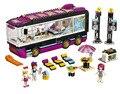 BELA Amigos Serie Pop Star Tour Bus Bloques de Construcción Modelo Clásico de Cabritos De La Muchacha Juguetes Marvel Compatible Legoe