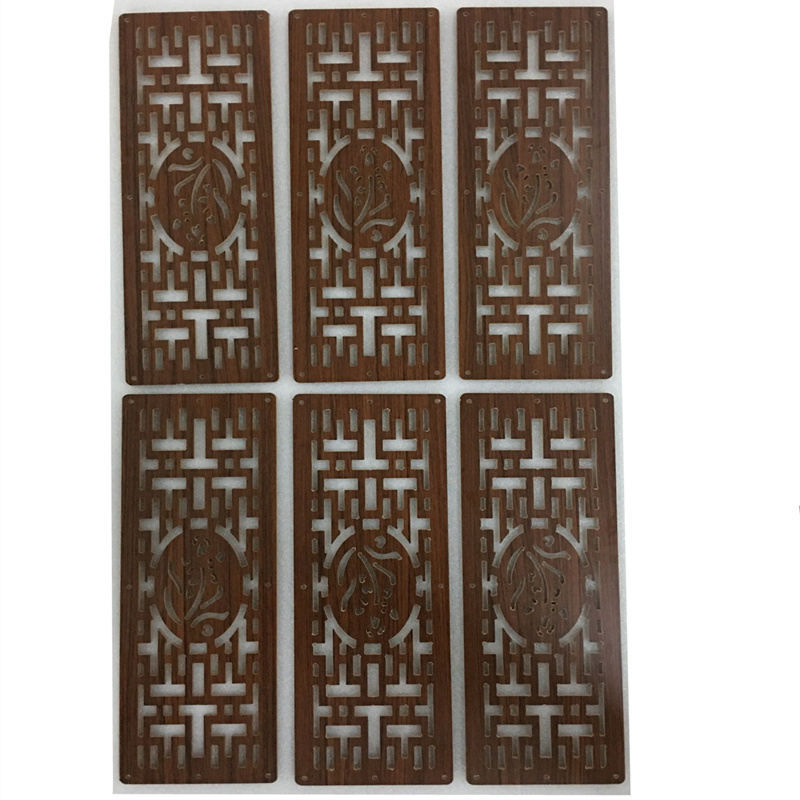 6PCS 13CMx39CM Compartmentation Hanging Wooden carved Cutout Carving room divider partition wall biombo room Dividers Partitions