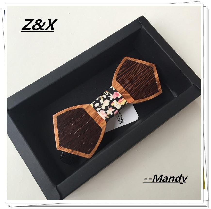 Топ Мода Франция дизайн высокого качества деревянный галстук-бабочка галстук мужской галстук-бабочка для свадьбы 1 шт./партия