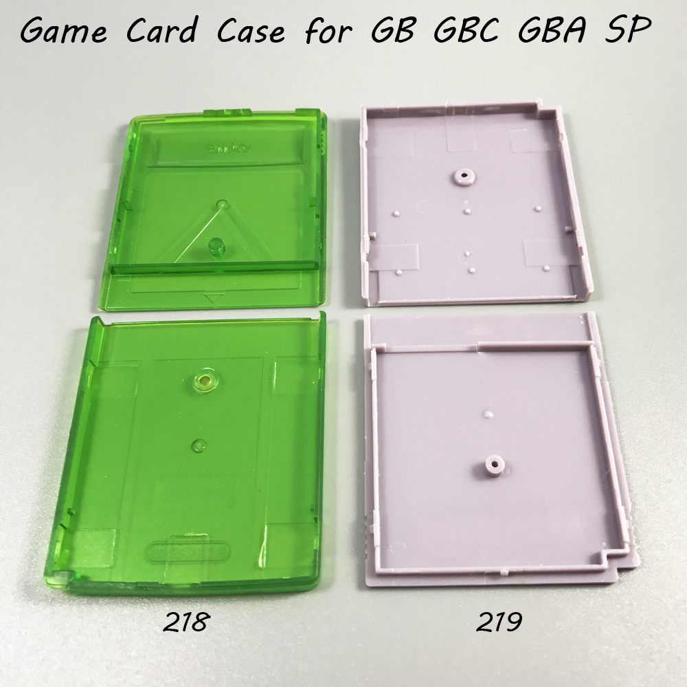 Gameboy color roms for free - 1x Grey Clear Green Game Card Housing Case For Gb Gbc Gba Sp Game Cartridge Case