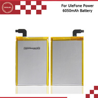 100 Original Backup UleFone Power Battery 6050mAh For UleFone Power Smart Mobile Phone Free Shipping Tracking