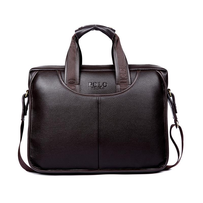 2019 New Fashion Package Man Handbag Single Shoulder Satchel  Travel Of Documents A Leather Bag Luxury Brand Men Briefcase Sale