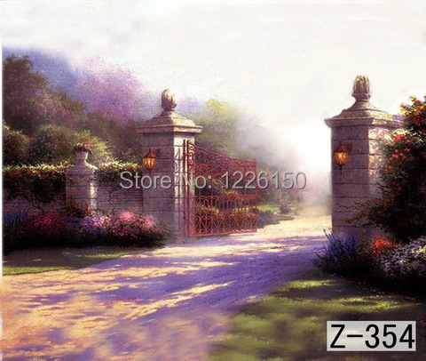 Mysterious scenic Backdrop z-354,10ft x20ft Hand Painted Photography Background,estudio fotografico,backgrounds for photo studio spring scenic backdrop 013 10ft x20ft hand painted muslin photography background estudio fotografico photo studio backdrop