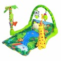 Rainforest Play Mat Newborn Baby Activity Gym Tummy Time With Music Avalan Kids