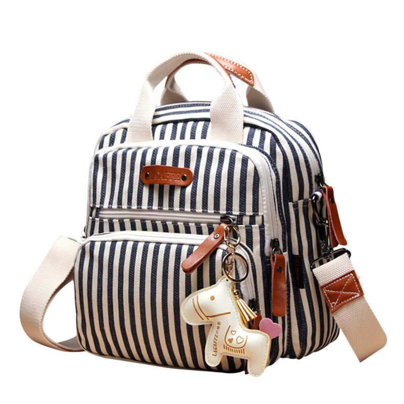 Us 31 8 New Baby Diaper Canvas Mommy Bag Ny Bags Maternity Cartoon Horse Decorate Mummy For In From Mother