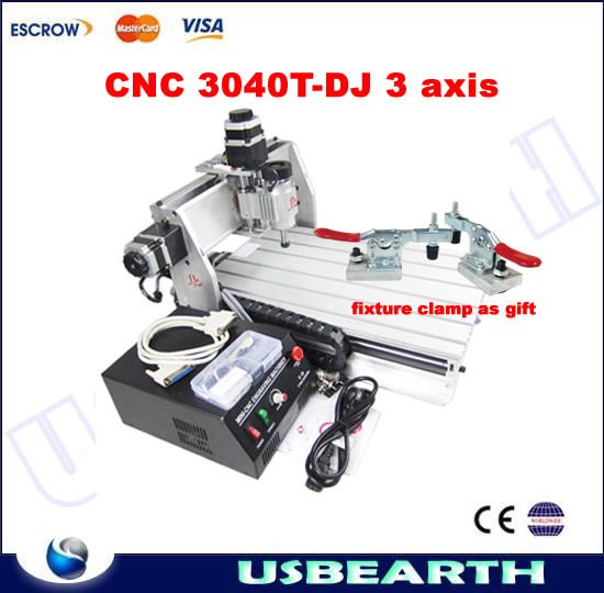 CNC 3040T-DJ engraving machine, CNC milling machine with fixture clamp as gift. used to fix the workpiece workpiece holding fixture fast fixture fast fixture clamp bolt 431 with self locking quick clip