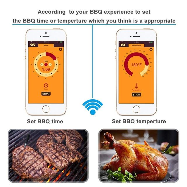 Wireless Meat Thermometer 4