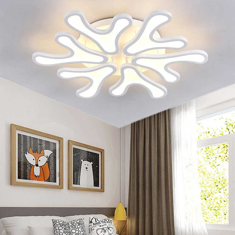Современная навесная Люстра светодиодный Гостиная спальня Люстра потолочная лампа restrant регулируемый светильник AC110-240V поверхностного монтажа