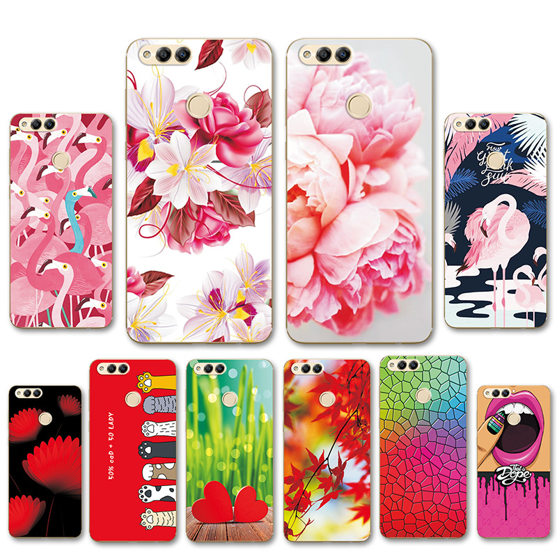 Glitter Case For Huawei Honor 7x Mate Se Fitted Cover Huawei Honor7x Bnd-l21 Bnd-l24 Bnd-l34 Bling Liquid Quicksand Phone Cases Goods Of Every Description Are Available Phone Bags & Cases