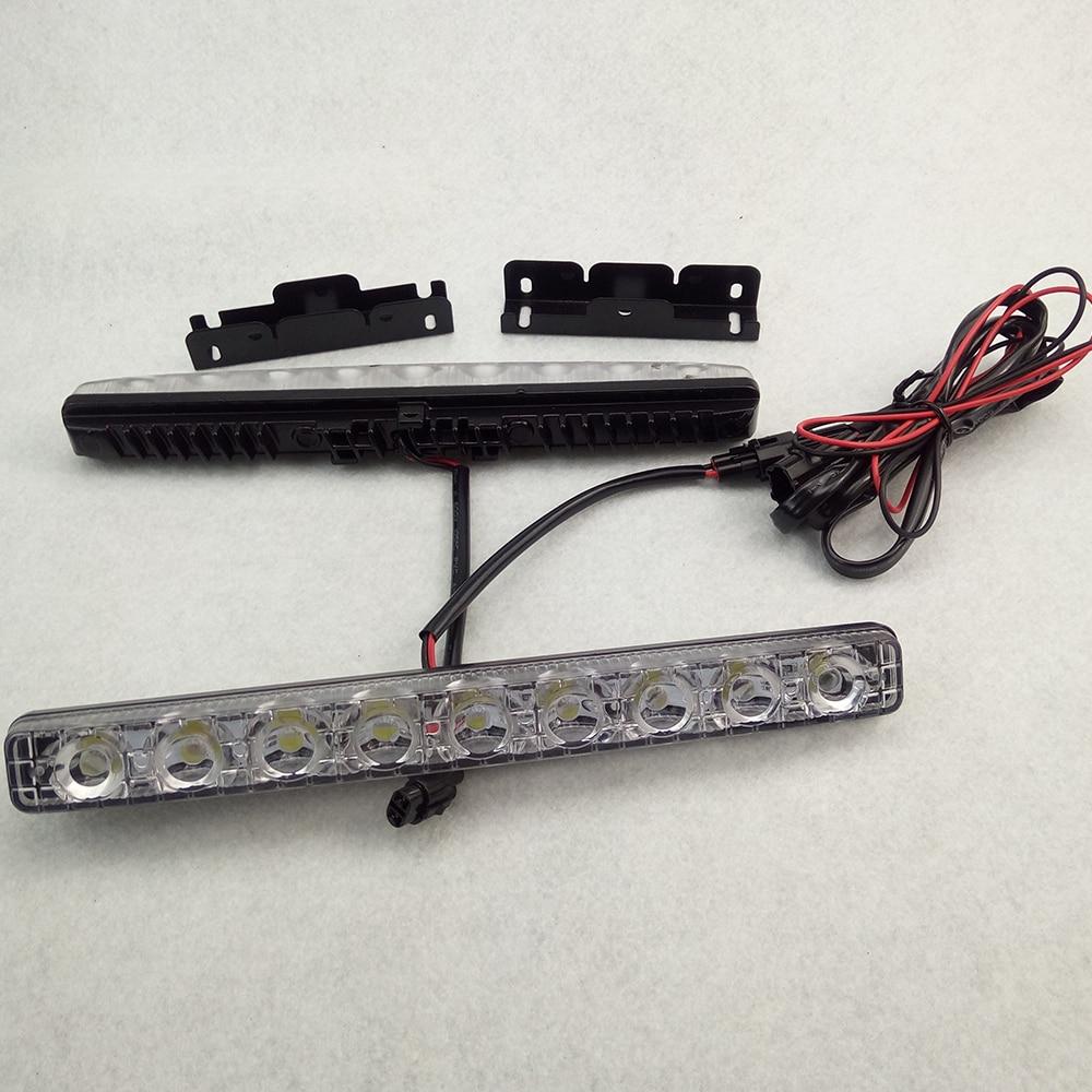 Supre Bright 2PCS / lot 9 LED Անջրանցիկ DC12V - Ավտոմեքենայի լույսեր - Լուսանկար 5