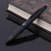 Многоцветная шариковая ручка 4 в 1, 0,7 мм, красный, зеленый, синий, запасной блок для школы, офиса