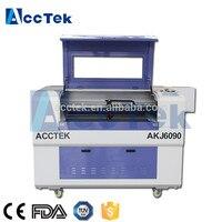 AK6090 co2 laser cutting machine  cnc laser cutting head cnc router mini cnc laser engraver