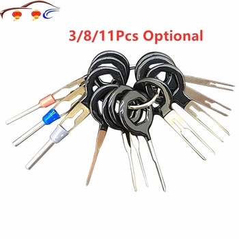 Automobiles Repair Tool Pin Extractor Kit 3/8/11Pcs Terminal Removal Tools Car Electrical Wiring Crimp Connector image