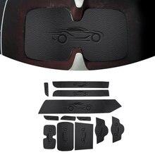 Car Door Groove Mat PU Leather Car Anti Slip Mat For Suzuki Alto