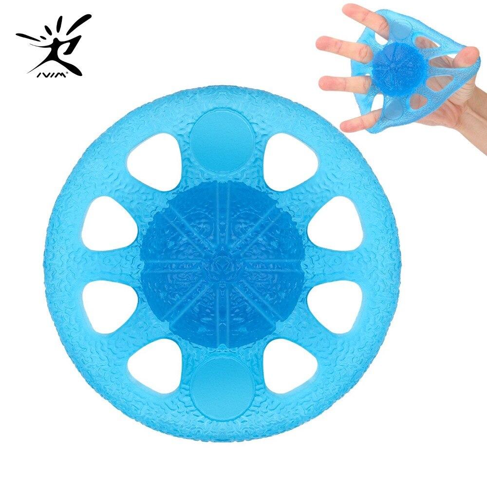 Hand Grip Exerciser Ball Finger Exerciser & Hand Strengthener Squeeze and Flex Training for Thera-Band Strength Training Finger