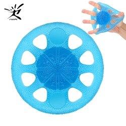 Тренировочный тренажер для рук, тренажер для пальцев, усилитель для рук, сжатие и гибкость для тренировки Thera-Band, тренировочный палец для сил...