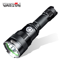 WARSUN USB Charger 5 Modes Lanterna Led Tactical Flashlight Outdoor Camping Torch Zaklamp Gladiator Linterna Led