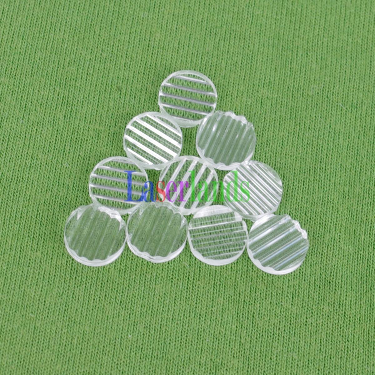 10pcs 5 20 36 45 60 90 110 130 160 Degree Laser Line Lens Generator For Diode Laser Line Module Colophony Plastic