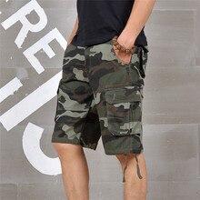 2019 Summer Mens Baggy Multi Pocket Military Camo Shorts Car