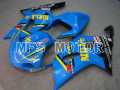 Custom Blue Black Fairing Injection ABS Bodywork Kit For 2001 2002 2003 Suzuki GSXR600/750 K1 K2 Racing