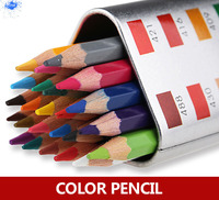 36 Color Drawing Pencils Watercolor Pencil Set For Painting Soluble Colored Pencil 36 Water Rainbow Pencil