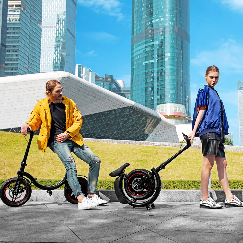 FOLDING BIKE WITH TOWING MODE 2019 foldable electro