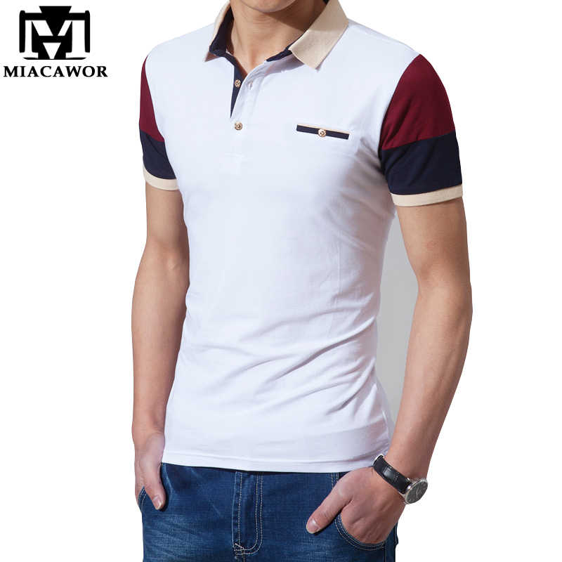cb9196bc6af92 Plus Size 5XL Summer Men Polo Shirt High Quality Cotton Short-sleeve Camisa  Polo Camisa