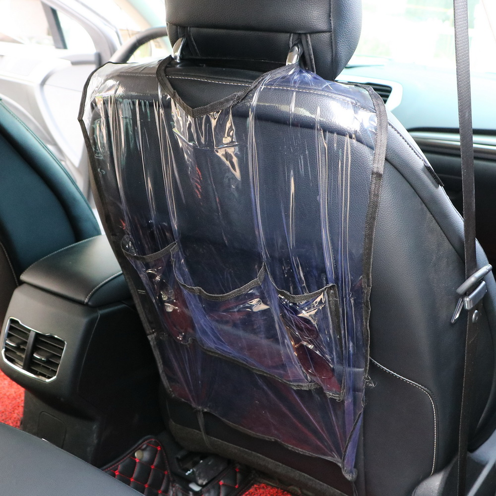 Seat Back Protector Travel Organizer For Children Kick Mud Mats Car Storage Bags Waterproof Car Seat Covers With Bag ...