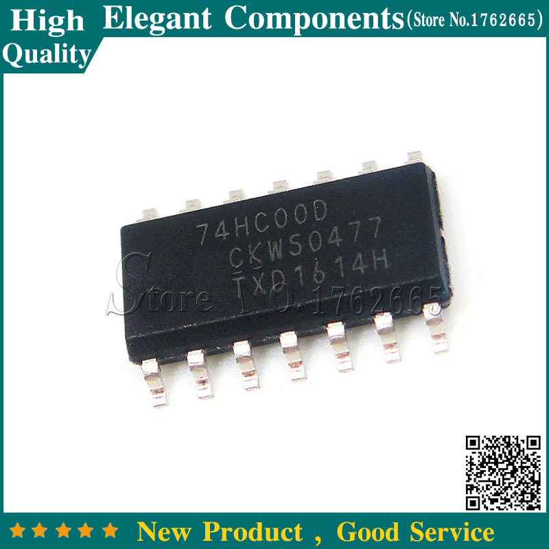 SN74HC00D UK STOCK 74HC00D IC 14 PIN 74HC00 SMD QUAD 2INPUT NAND