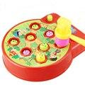 Martela Jacaré do bebê-Um-Ataque Picar Uma Toupeira Toupeira Toupeira Hamster Música Eletrônica de Plástico Crianças Brinquedo Jogo de inteligência Das Crianças WJ399