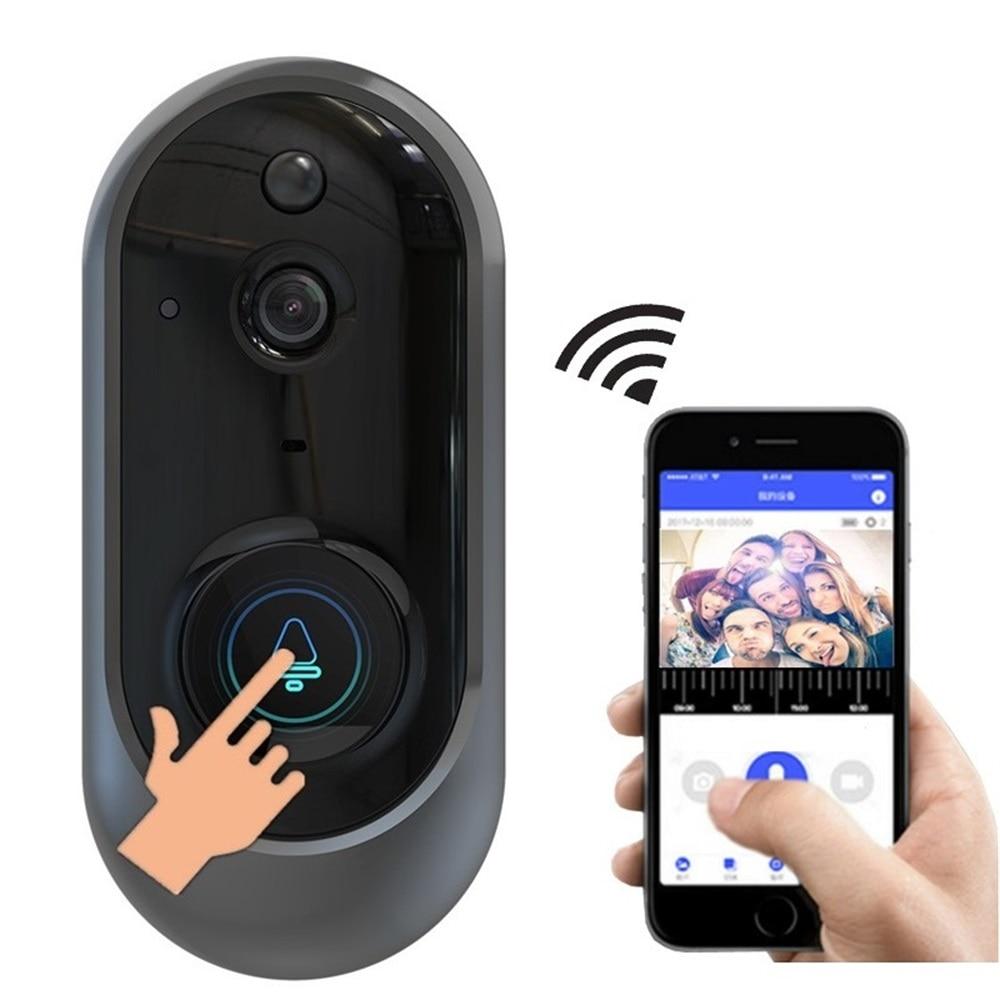 MR108 wifi sonnette caméra sans fil HD 720P vidéo wifi sonnette anneau avec carillon IR vision nocturne sans fil 2.4/5 android-in Sonnette from Sécurité et Protection on AliExpress - 11.11_Double 11_Singles' Day 1