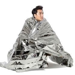 Аварийный майлар одеяла сохраняющая тепло, термо фольга аварийное Выживание Кемпинг спасательная Первая помощь Кемпинг аварийная защита