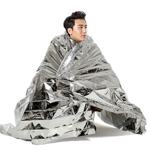 Emergency Mylar Blankets Thermal Thermo Foil Emergency Survival Camping Rescue First Aid Camping Emergency Protection
