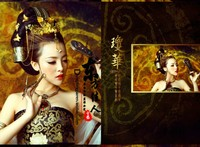 Qionghua 2014 New Costume Photography Sexy Costume Dunhuang Feitian Flying Fairy Stage Show Costume