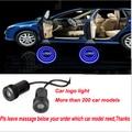 Продвижение МИНИ-Автомобиля led LOGO добро пожаловать свет 7 Вт двери лампа лазерного проекционной лампы 1 пара Бесплатная Доставка