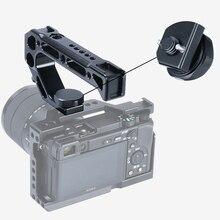 UURig R008 камера Верхняя ручка Ручка Рукоятка захват Arri установочный винт монитор микрофон установка Холодный башмак для Nikon Canon Sony DSLR камера