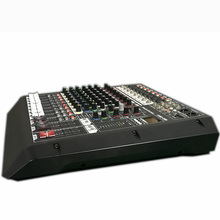 8 Channel Mixer audio FX82USB rack mount studio mixer console recording studio equipments mini mixer dj equipements In amplifier