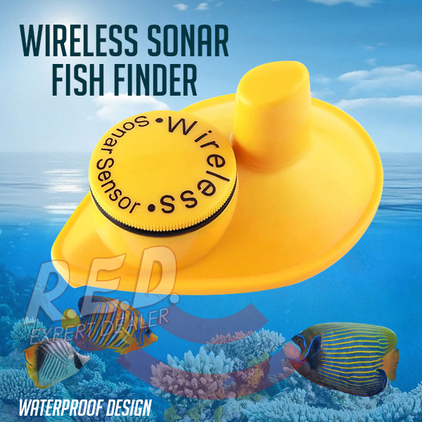 SNS-718S Optional LUCKY Sonar Sensor For Fish Finder Items optional extra wireless sonar sensor for fish finder items